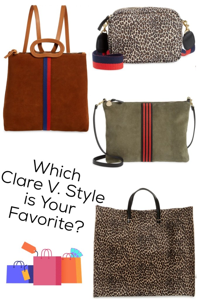 Clare V. bags from the Nordstrom Anniversary Sale 2021
