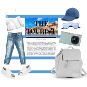 The perfect look to go explore the beautiful city of Milan feel chic, comfortable and still on top of your style game!