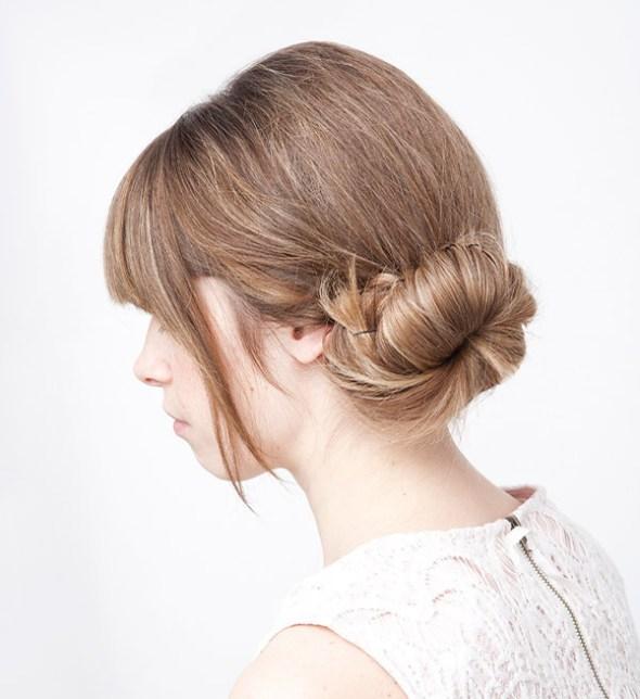 five-minute hairstyles school