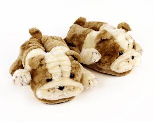 bulldog-slippers