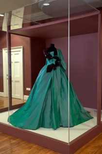 Watteau gown at Danson House