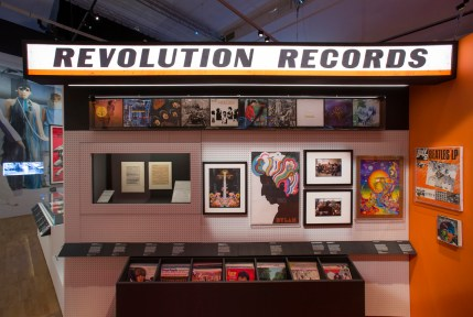 Installation image - You Say You Want a Revolution. Photo by Victoria and Albert Museum