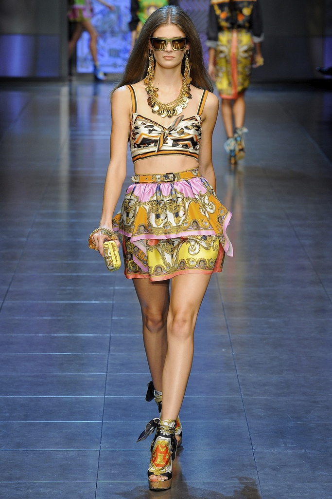 D&G Spring Summer 2012 Collection 4