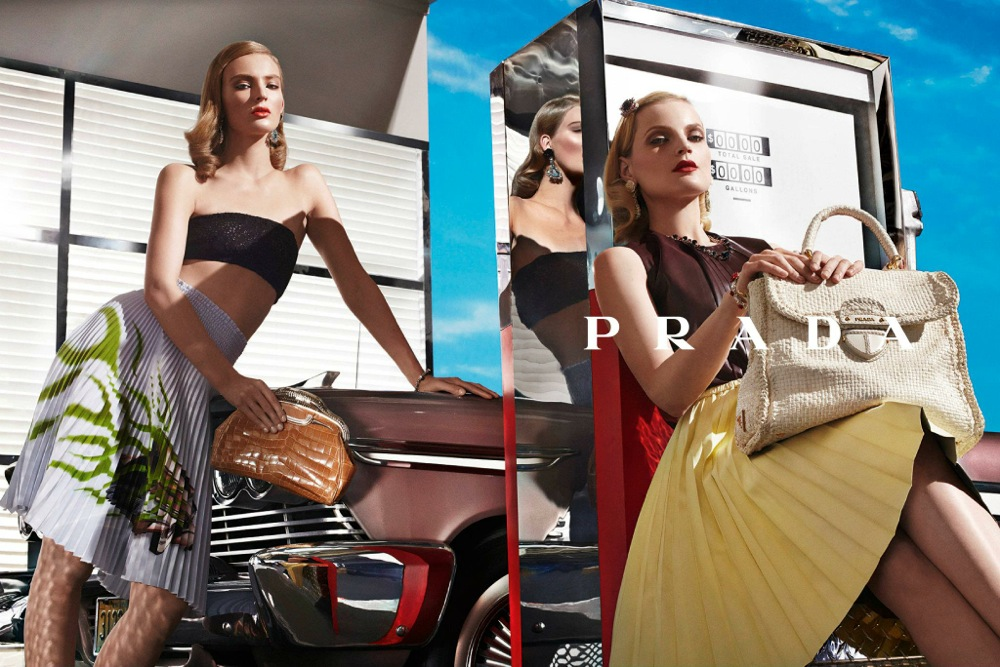 Prada Spring Summer 2012 Ad Campaign by Steven Meisel 10