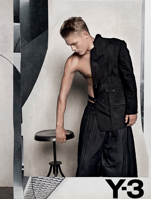 Y-3 Spring Summer 2012 Ad Campaign by Collier Schorr 6