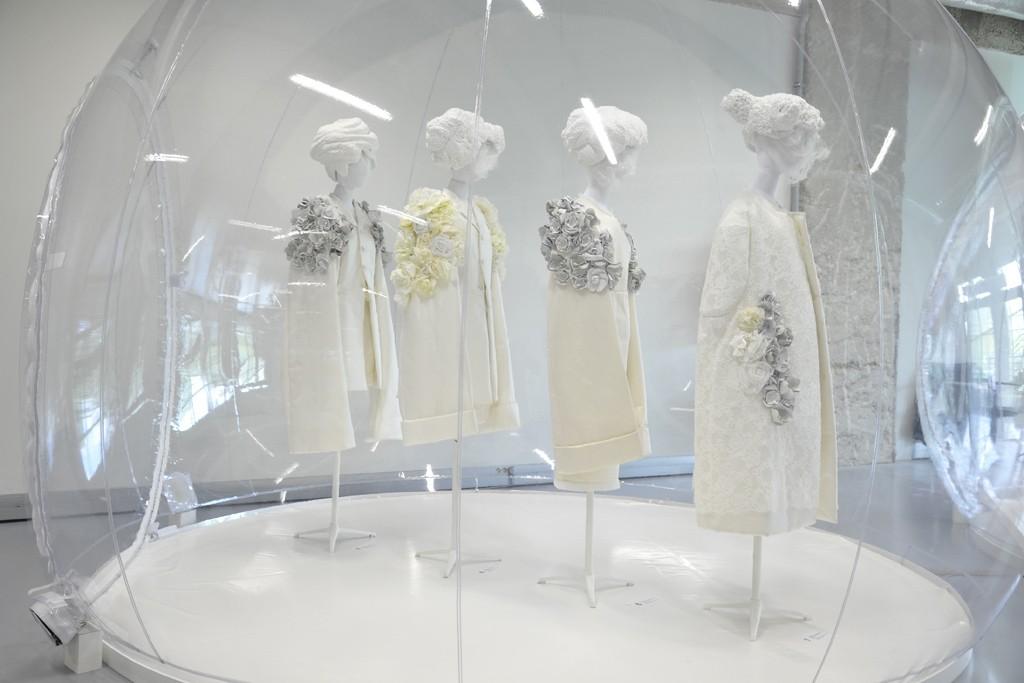 COMME des GARÇONS White Drama Exhibit Galliera Museum 2