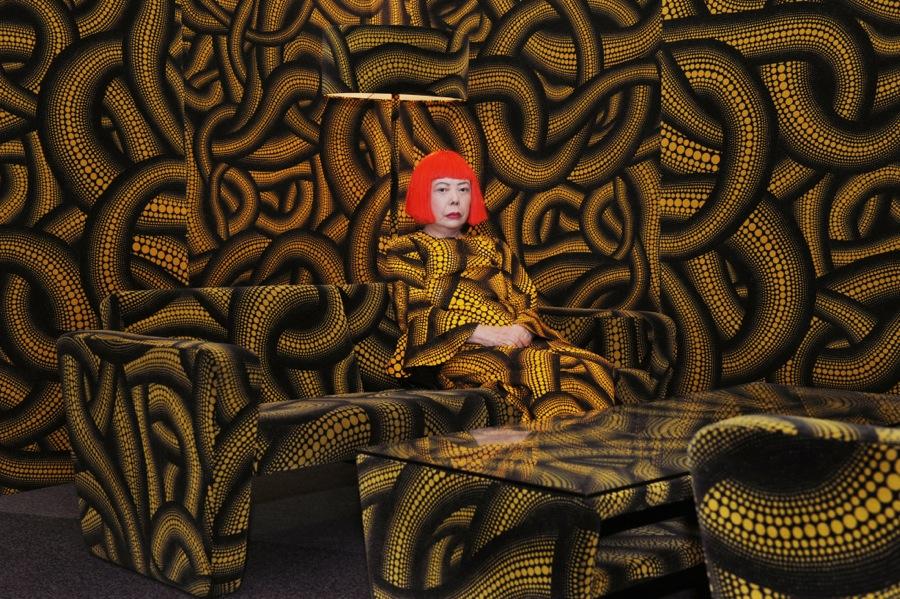 Yayoi Kusama in Yellow Tree Furniture