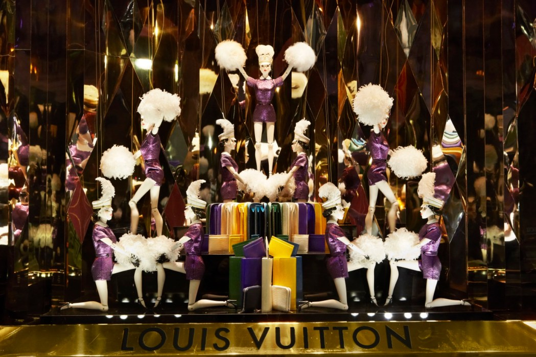 The Louis Vuitton Christmas of the Century at the ...