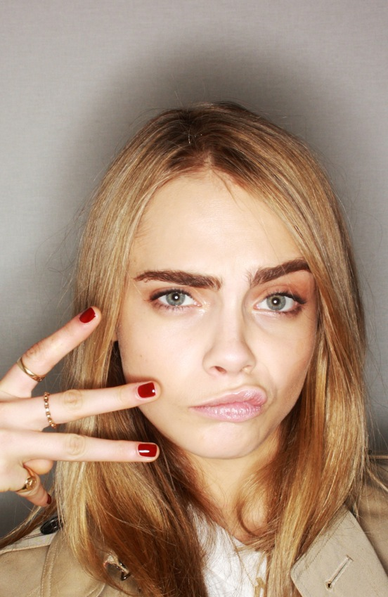 Burberry #BeautyBooth at the Burberry Prorsum Womenswear Autumn Winter 2013 Show 2