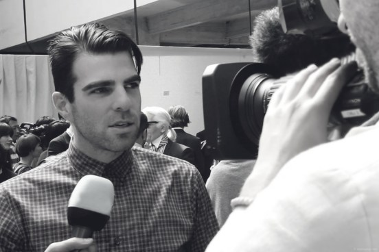 Dior Homme Spring Summer 2014 Collection Zachary Quinto