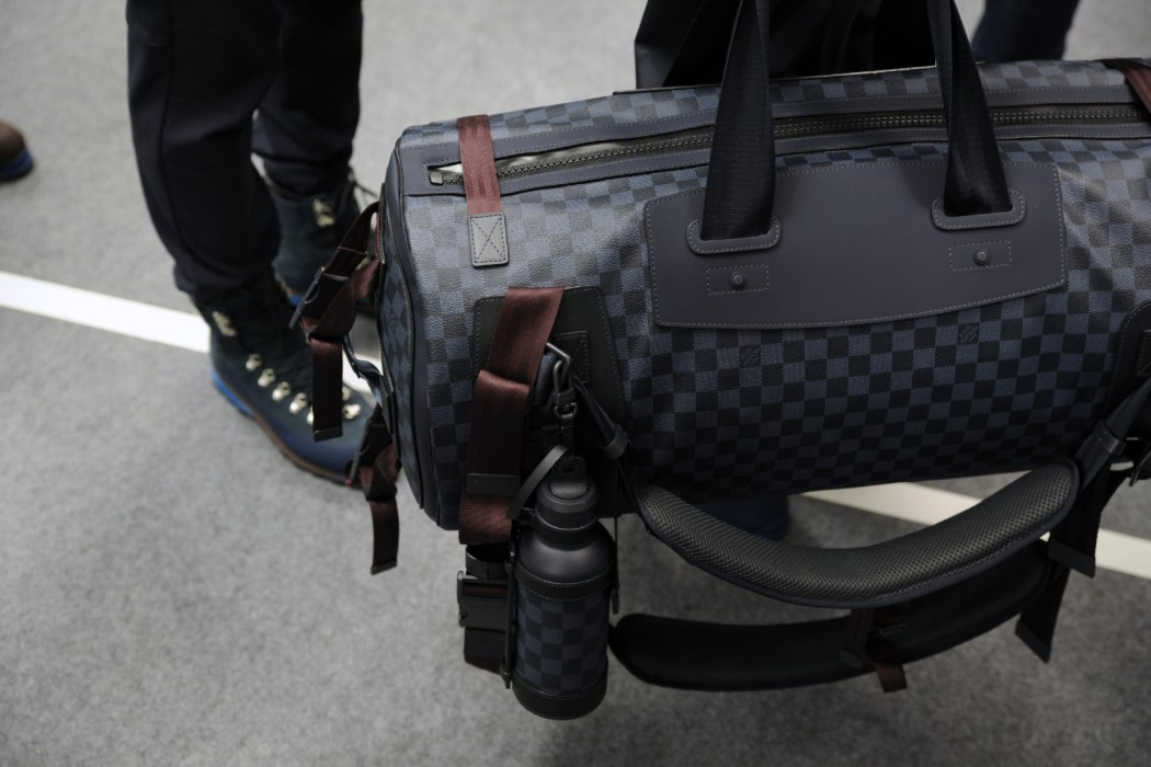 Backstage at the Louis Vuitton Menswear Fall Winter 2014 Show 30