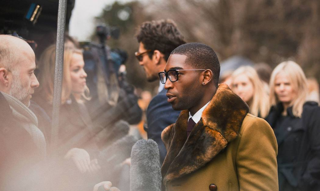 Backstage at the The Burberry Prorsum Menswear Fall Winter 2014 Show 12