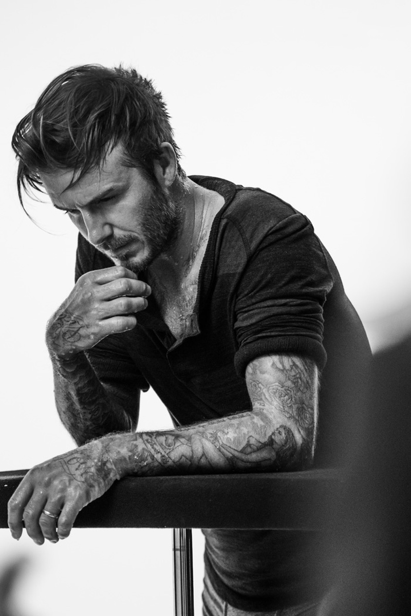 David Beckham for HM Bodywear Fall 2014 Campaign 3