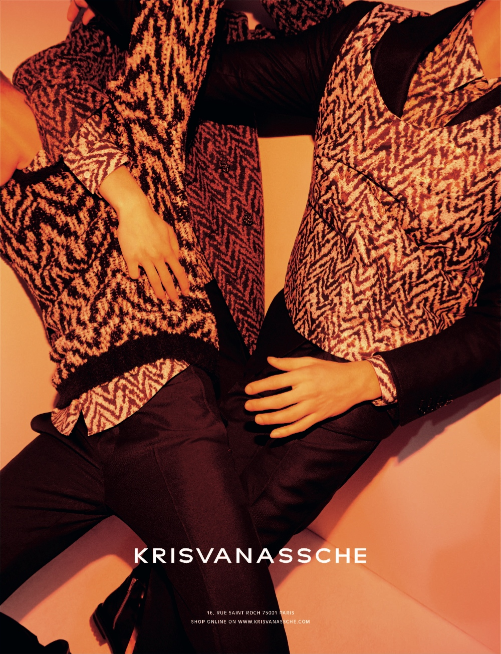 KRISVANASSCHE Fall Winter 2014 Ad Campaign 2