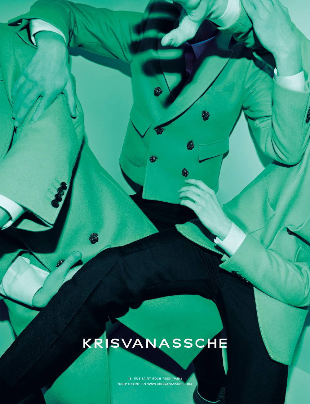KRISVANASSCHE Fall Winter 2014 Ad Campaign 3