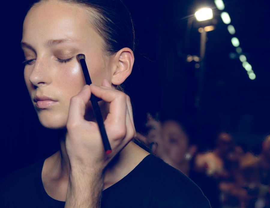 Backstage Beauty at the Alexander Wang Spring 2015 Show 8