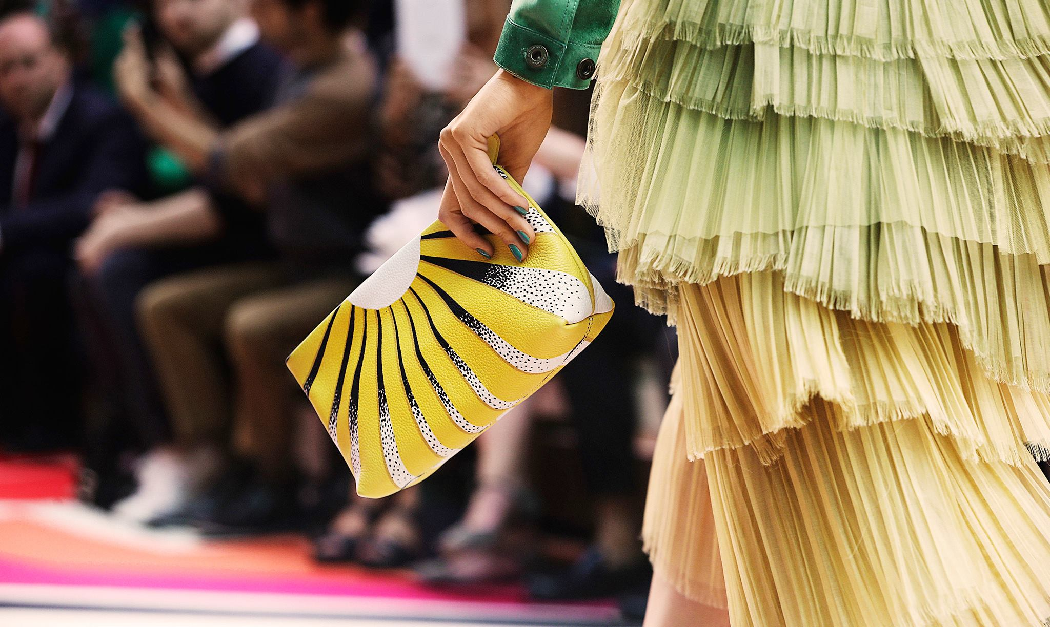 Backstage at the Burberry Prorsum Spring 2015 Show 16