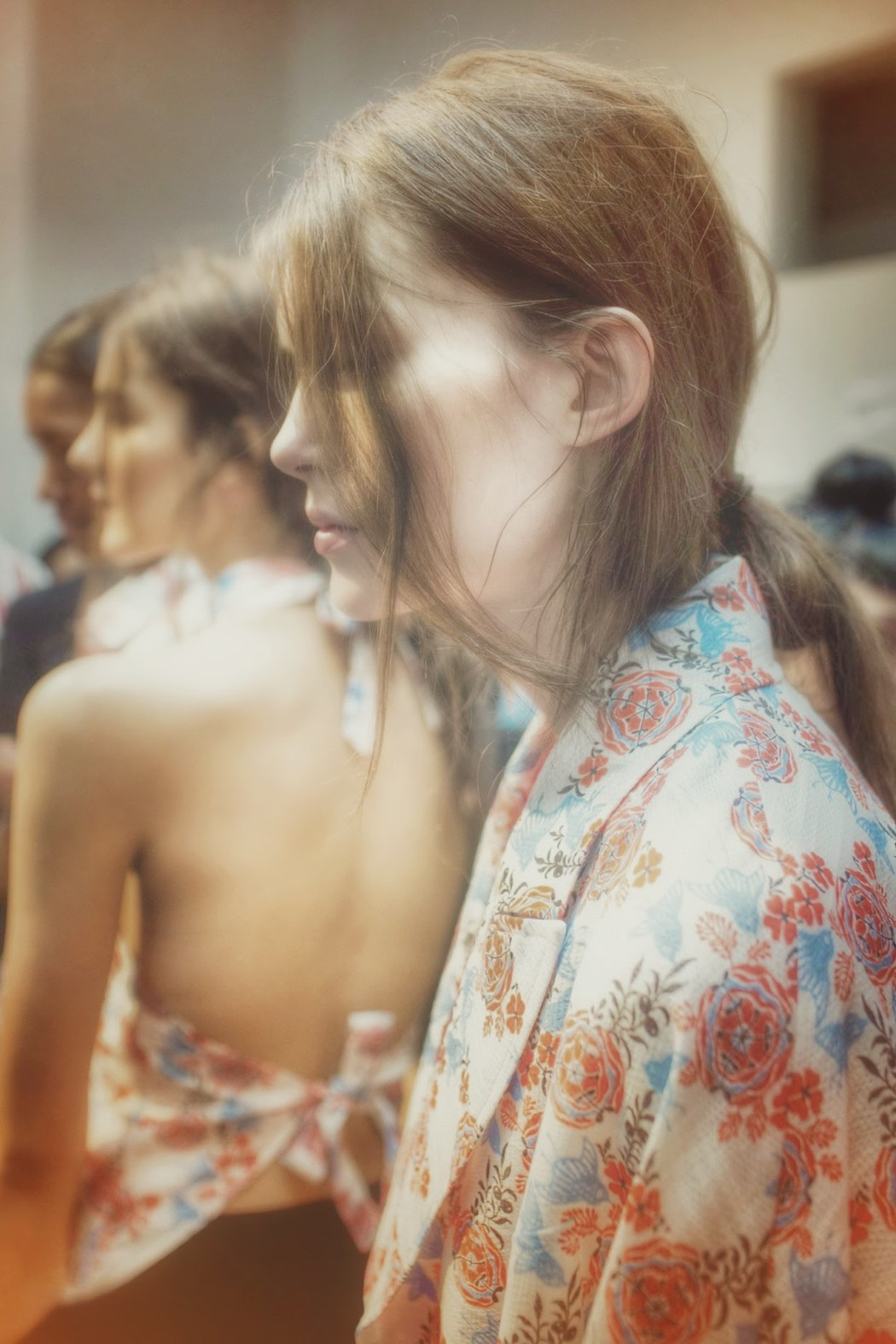 Backstage at the Creatures of The Wind Spring 2015 Show 2
