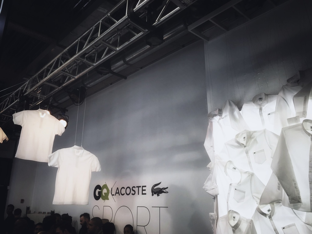 Lacoste x GQ Pop Up Store 9