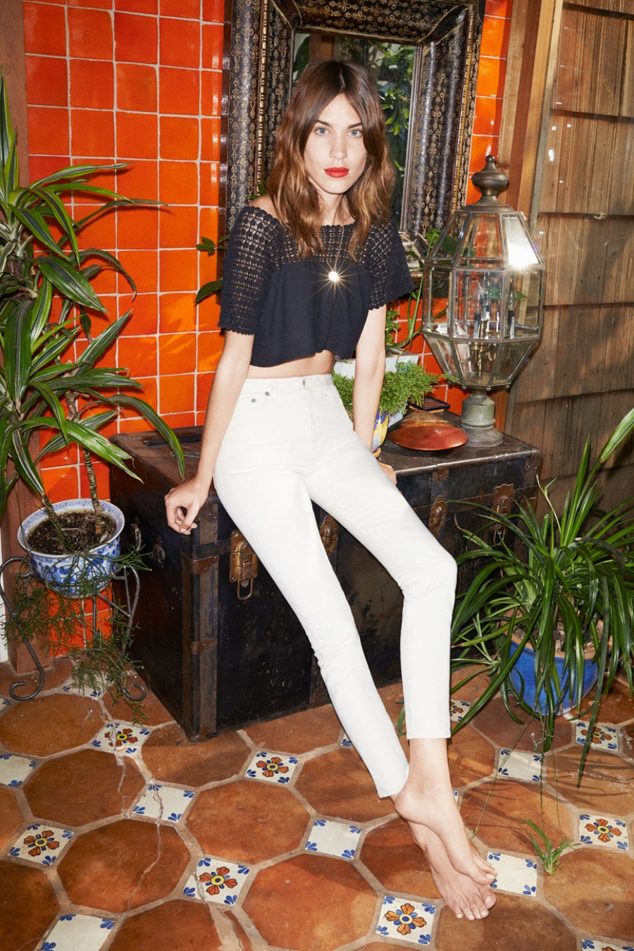 Alexa Chung for AG Jeans Collection 9