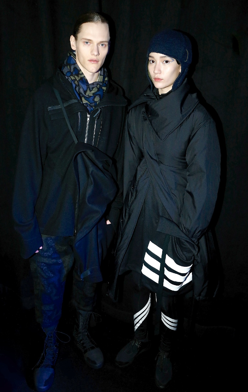 Backstage at the Y-3 Fall 2015 Show 28