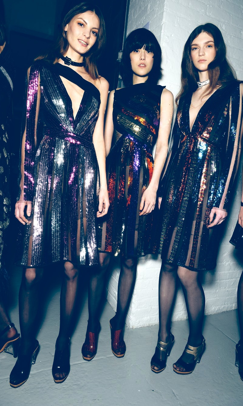 Backstage Beauty at the Rodarte Fall Winter 2015 Show 8