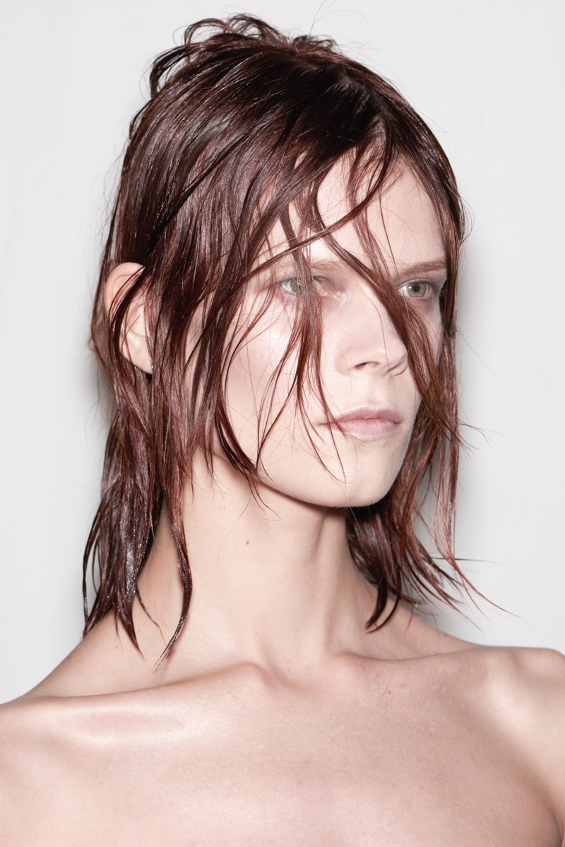 Backstage at the Alexander Wang Fall Winter 2015 Show Redken by Guido Palau 3