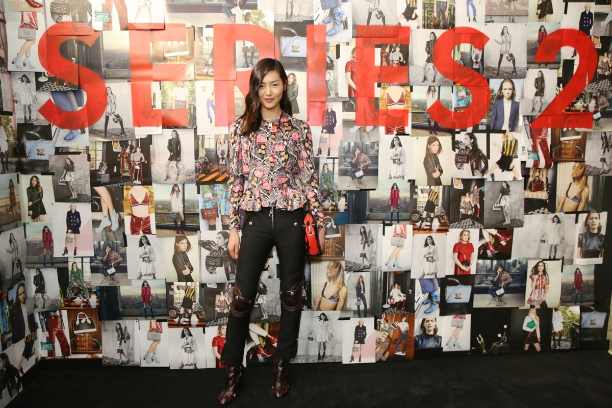 Liu Wen attends Louis Vuitton SERIES 2 Past Present and Future Exhibition in Los Angeles