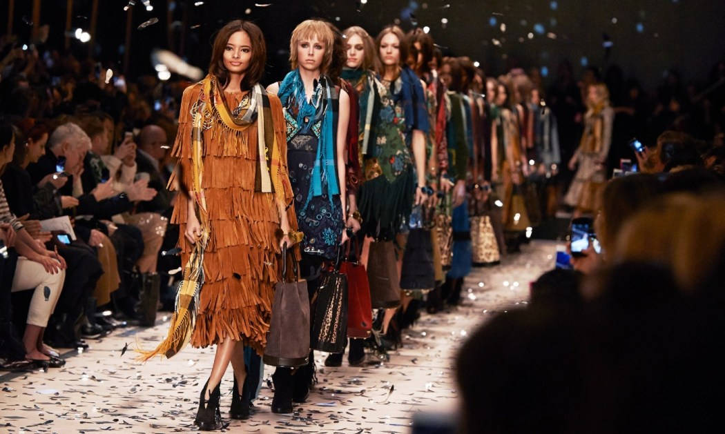 Burberry Prorsum Fall Winter 2015 Collection 1