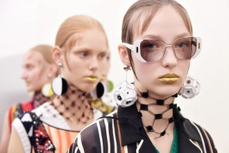 Backstage Beauty at the Prada Spring 2016 Show 8