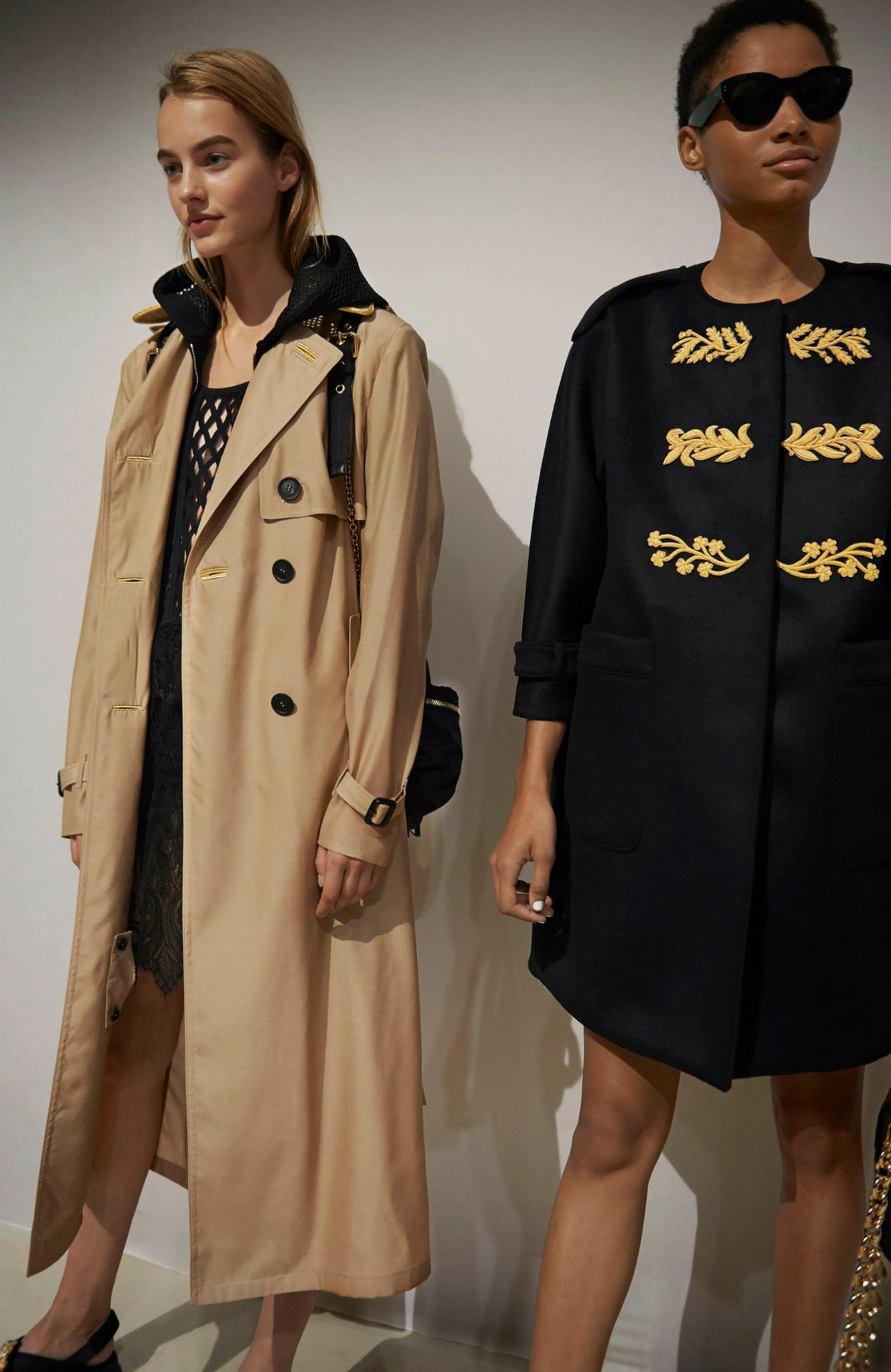 Backstage at the Burberry Prorsum Spring Summer 2016 Show 5