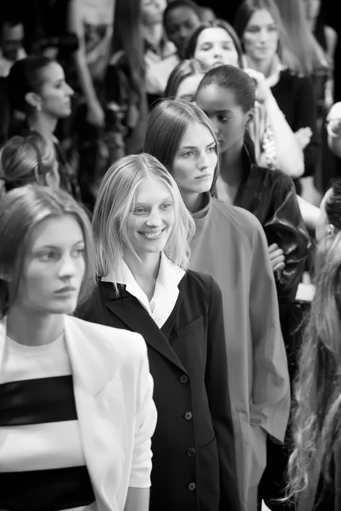Backstage at the Ralph Lauren Spring 2016 Show 6