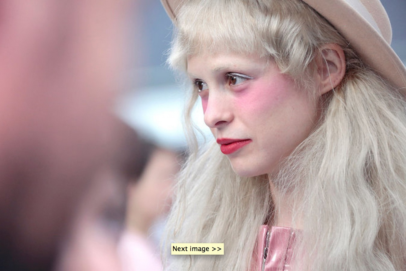 Petite Meller at the Chanel Spring Summer 2016 Show