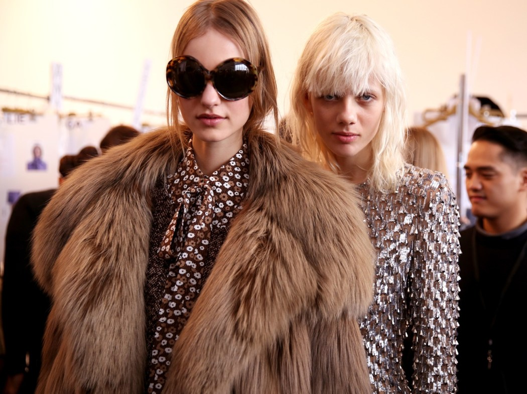 Backstage at the Michael Kors Fall Winter 2016 Show 1