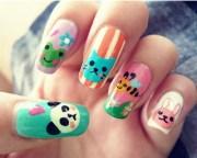 9 simple animal print nail art