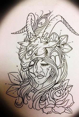 Capricorn Warrior Tattoos For Men
