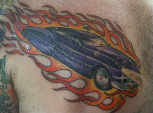 15 Cool and Classic Car Tattoo Designs With Meanings