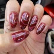 9 airbrush nail art design