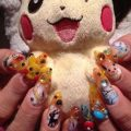 Cute kawaii nail art designs with pictures styles at life