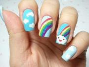 9 simple and easy nail art design