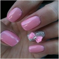 Nail Designs With Bows