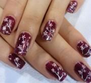 9 cherry blossom nail art