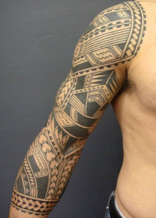 traditional samoan tattoo design