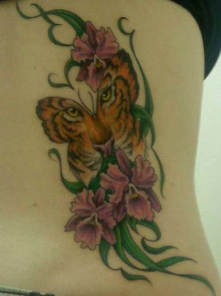 20 Tiger Butterfly Tattoos Ladies Ideas And Designs