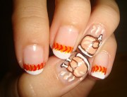 9 easy thanksgiving nail art design