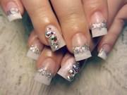 9 crystal nail art design