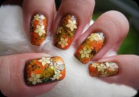 9 Easy Thanksgiving Nail Art Designs with Images   Style ...