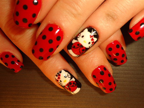 O Kitty Nail Art Images Best