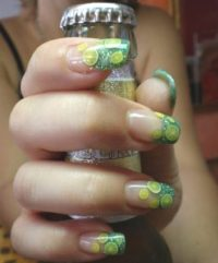 9 Cute Green Nail Art Designs with Images | Styles At Life