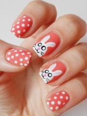 9 simple easter nail art design